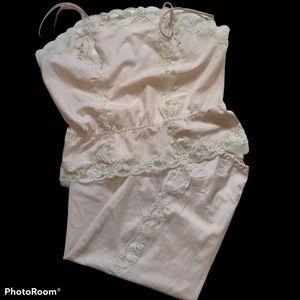 Saks Fifth Avenue Vintage Camisole Slip Set